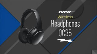 Bose QuietComfort 35 Wireless Headphones QC35 - Overview