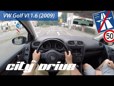 VW Golf 6 1.6 (2009) - POV City Drive