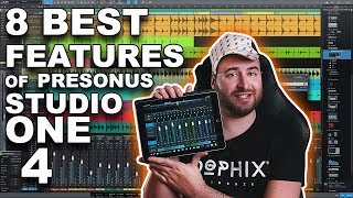 8 Best Features of Presonus Studio One 4 DAW