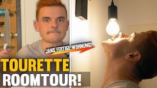 Tourette Roomtour! Jan ZEIGT EUCH endlich seine FERTIGE WOHNUNG!