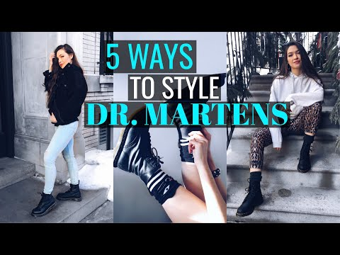5 Ways to Style Dr. Martens | 2019 Hottest Shoe