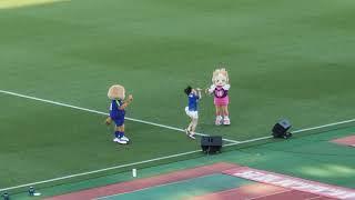 2018徳島ヴォルティス特別応援大使 上野優華さんライブ.
