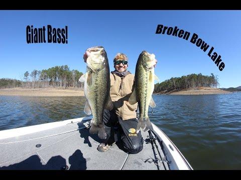 Giant Bass Broken Bow Lake?!?!