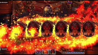 14 New DeathWing Animation at the same time in Hearthstone