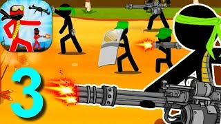 Stickman Army : Team Battle Walkthrough Part 3 / Android Gameplay HD