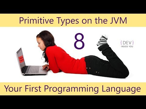 Scala - Your First Programming Language - Part 8 - Primitive Types  on the JVM
