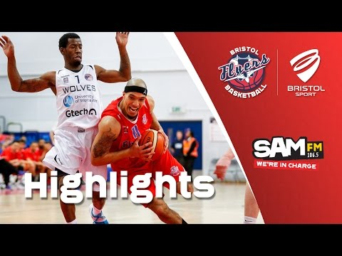 HIGHLIGHTS: Bristol Flyers 77-82 Worcester Wolves