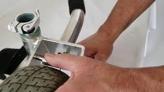 Old TravelScoot Brake Adjustment