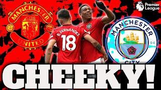 Man united vs city 1-0 reaction ...