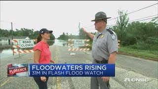 Major flooding blocking recovery efforts in South Carolina