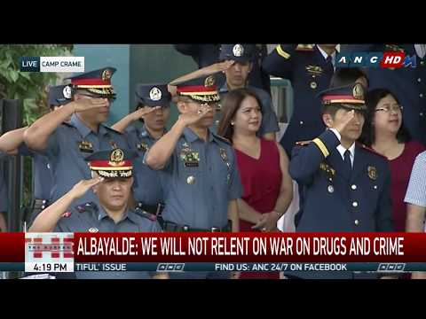 WATCH: President Duterte speaks at the PNP Change of Command ceremony | 19 April 2018