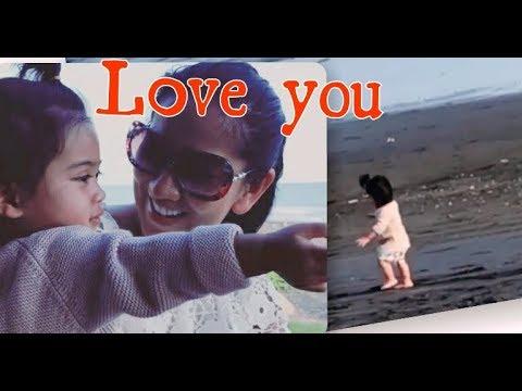 Vania Athabina dan mama sweet moment di bali