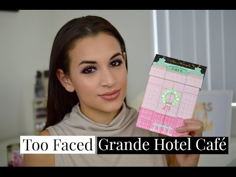 Too Faced Grande Hotel Cafe Review and Swatches | Holiday 2016 Christmas in New York Collection