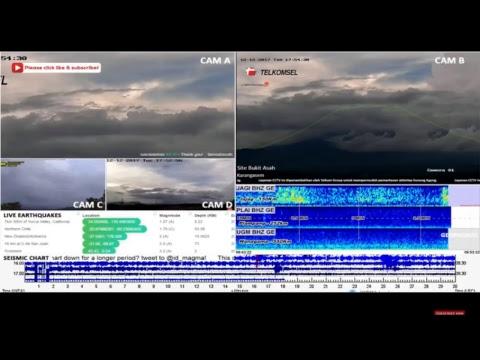Chicago,ventura NYC police,Bali volcano mixed cams around world twitter news feeds