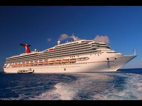 Carnival Glory secret places and features - YouTube