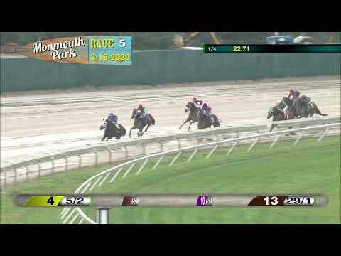 video thumbnail for MONMOUTH PARK 08-16-20 RACE 5
