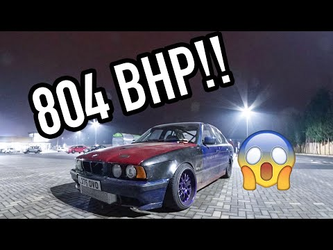 804 BHP BMW 540 E34 *MENTAL*