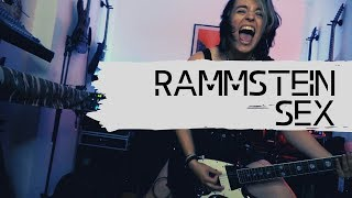 Rammstein - Sex Live Guitar Cover [4K / MULTICAMERA]
