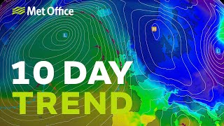 10 Day Trend – How long will the cold and snow last?
