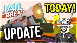 🔴JAILBREAK UPDATE NOW!🔴ROBLOX JAILBREAK TRAIN UPDATE! ! SERVER CONTROL, NEW TRAIN UPDATE,JAILBREAK