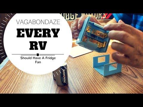 Valterra RV Fridge Fan - Something Every RV Should Have