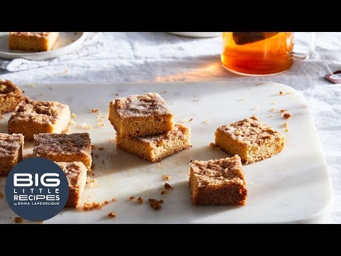 Snickerdoodle Shortbread | Big Little Recipes