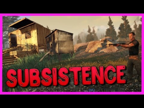 Subsistence - Я НЕ ОДИН В ЭТОЙ ИГРЕ? СТРОИМ ДОМ! [Alpha]