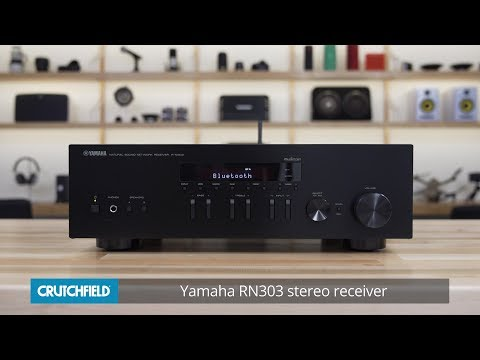 Yamaha R-N303 stereo receiver | Crutchfield video - YouTube