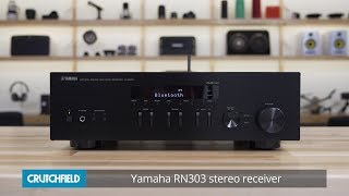 Yamaha R-N303 stereo receiver | Crutchfield video