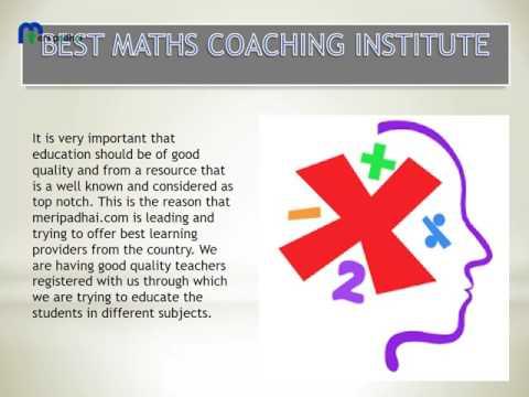 Maths Home Tuition in Delhi 00