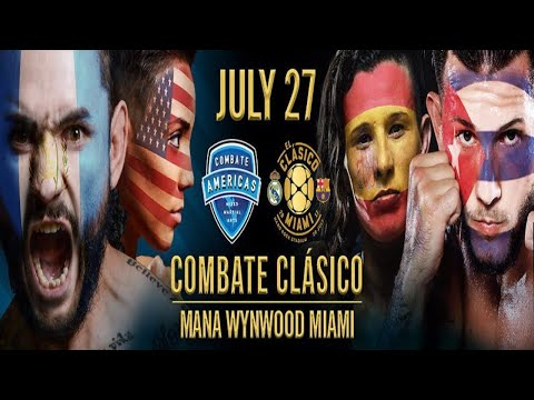 See What Happened at Combate Americas- Combate Clásico