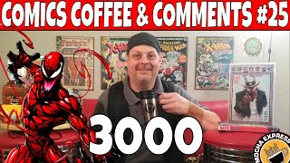 Comics Coffee & Comments #25, Carnage Comics and other Key Comic books to get. God Country and more