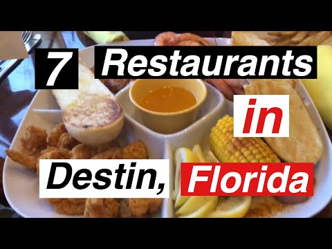 7 Restaurants in Destin FL.    True Southern Accent