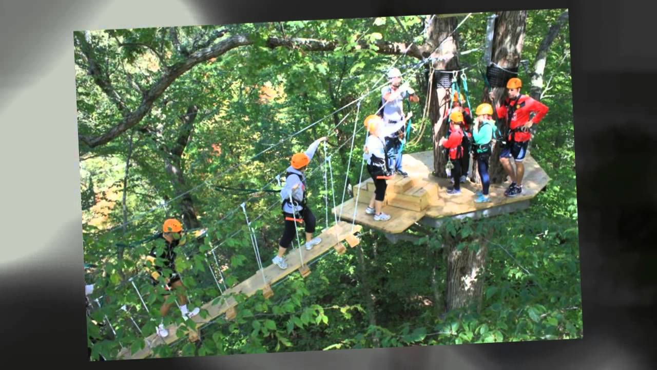 Zipzone Canopy Tours Zip Line Tour In Columbus Oh Youtube