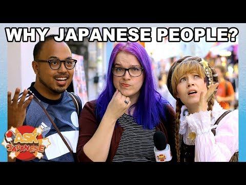 WHAT WE DO NOT GET about JAPANESE PEOPLE?