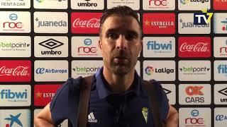 Alberto Cifuentes tras Mallorca-Cádiz (07-09-18)