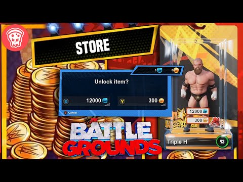 Microtransactions, Purchasing Characters, & Unlocking Stuff in WWE 2K Battlegrounds