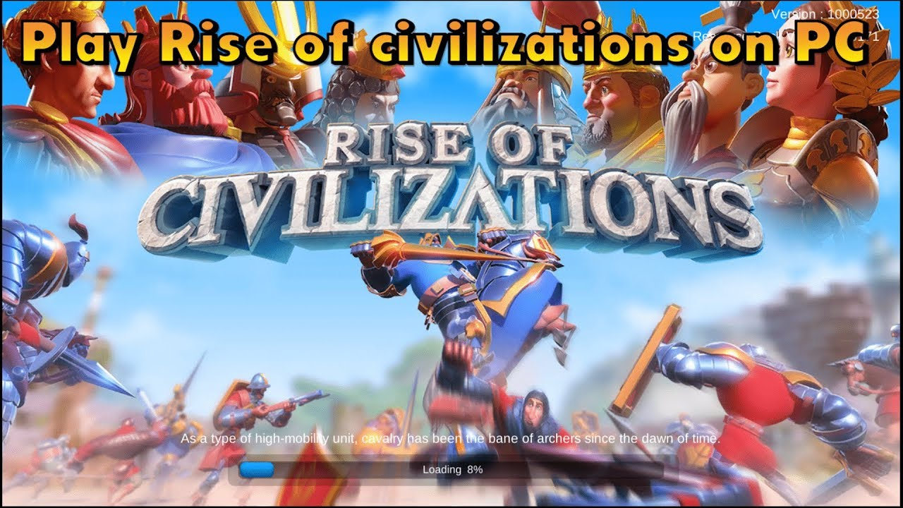 Download and Play Rise of Civilizations on PC with MEmu App