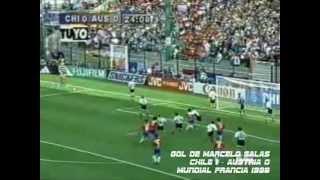 Goles de la Selección Chilena de Fútbol en Partidos Oficiales desde 1950 hasta 2012 (Parte 1)