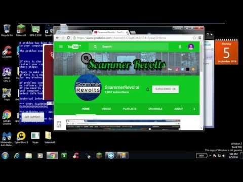 """Windows tech scam """"myphonesupport""""   (855) 698-3241   myphonesupport.com"""