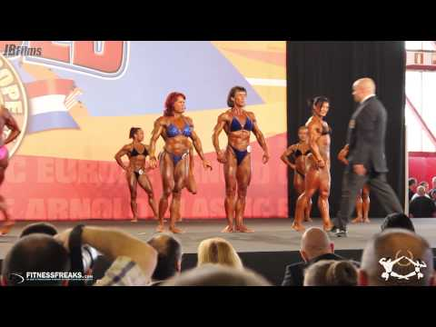 ASC Europe 2012 - Female BodyBuidling Finals Class by Burak Olgun