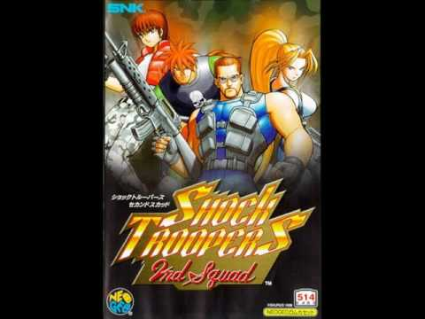 Shock Troopers 2  - 2nd Squad Stage 1 Music
