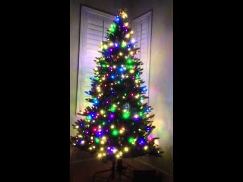 Our Smart Christmas Tree With Ipod/mp3 Adapter/speaker & Re