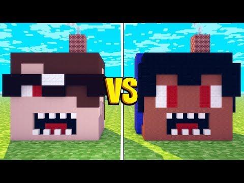 Minecraft: PAC.EXE VS MIKE.EXE! - Batalha de Casas