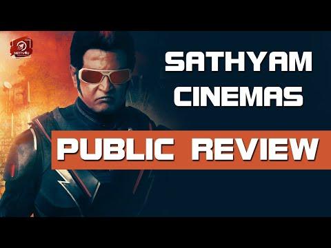 Sathyam Cinemas Public Review | 2.0 Movie | Rajinikanth | Akshay Kumar | Shankar | Amy Jackson