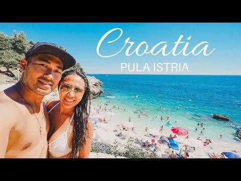 Pula Roman Amphitheatre, Truffle pasta, beautiful beaches in Pula Istria Croatia
