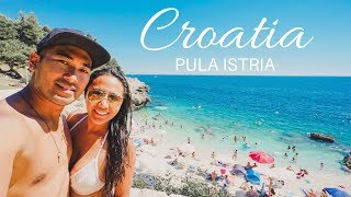 Pula Roman Amphitheatre, Truffle pasta, beautiful beaches in Pula Istria Croatia