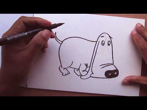 Learn How to Draw a Puppy Sketch for Watercolor