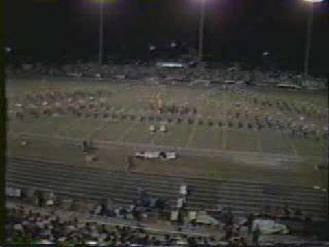 Pine Tree High School Band 1985