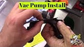 Silent Drive Vacuum Pump by Master Power - YouTube
